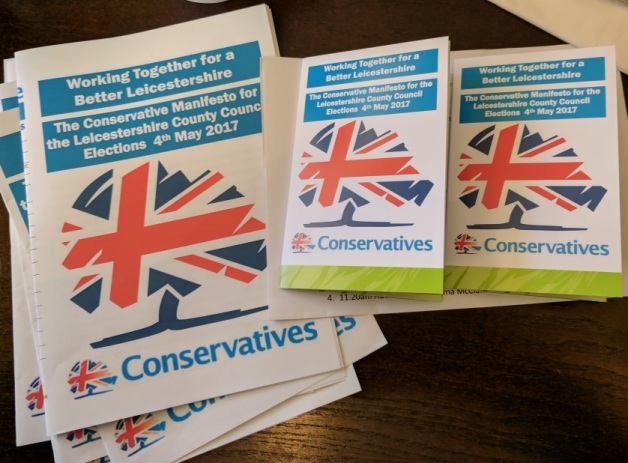 Leicestershire Conservative Group Manifesto 2017