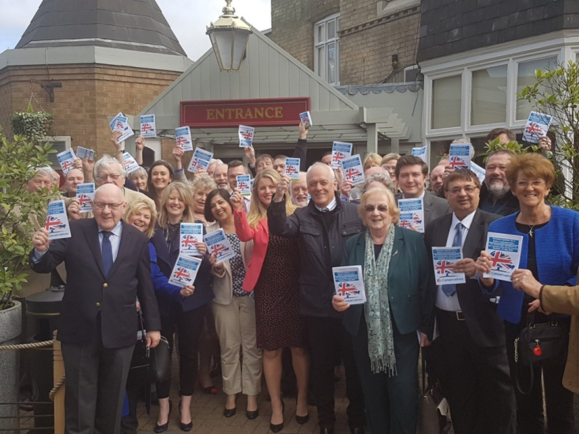 Conservative candidates & others at 2017 Manifesto launch