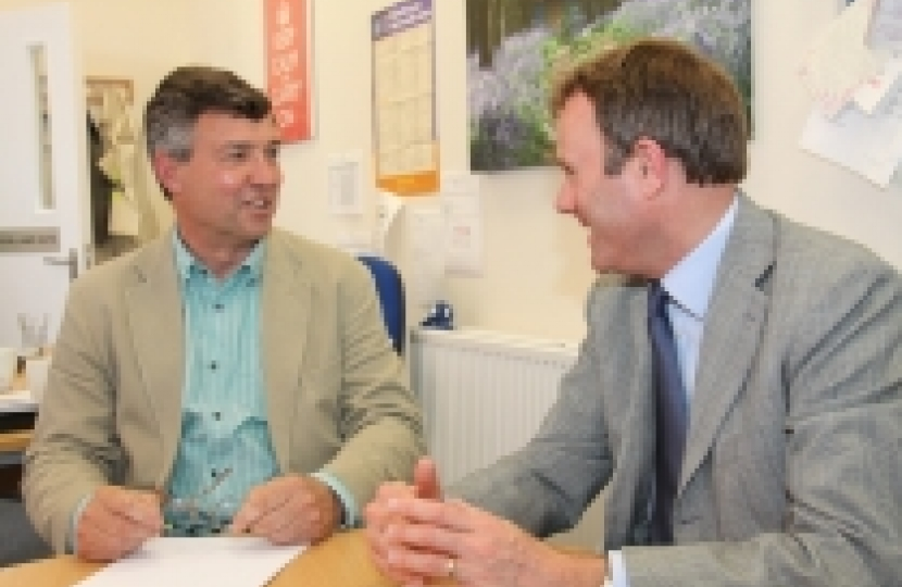 Sir Clive Loader & Nick Herbert MP